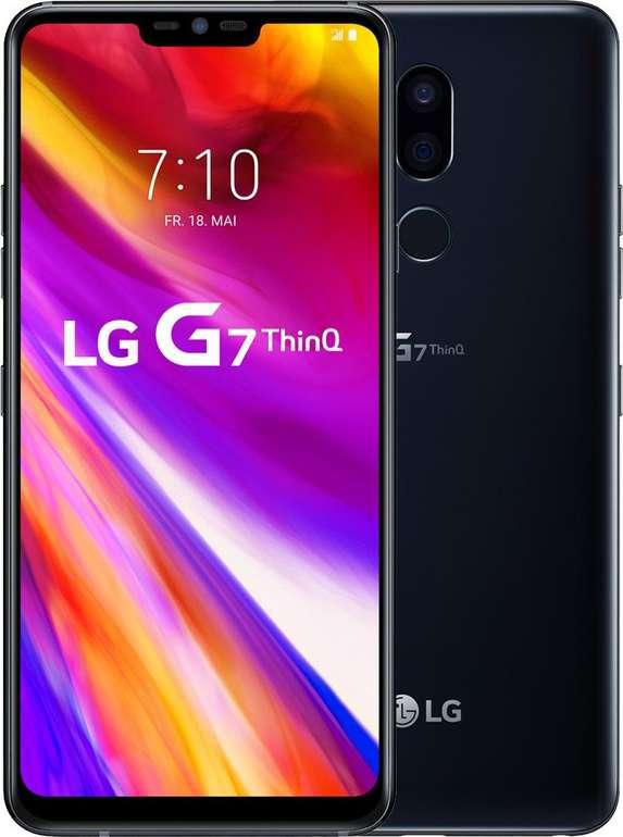 LG G7 ThinQ (+89,95€) inkl. Blau o2 Allnet-Flat mit 4GB LTE für 14,99€ mtl.
