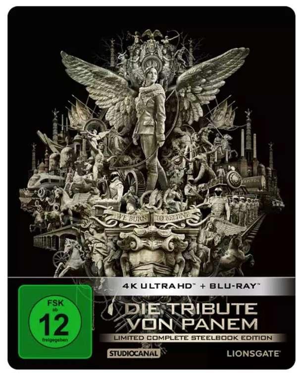 Die Tribute von Panem - Complete Collection 4K Ultra HD (Blu-ray) für 33,69€ inkl. Versand (statt 44€)