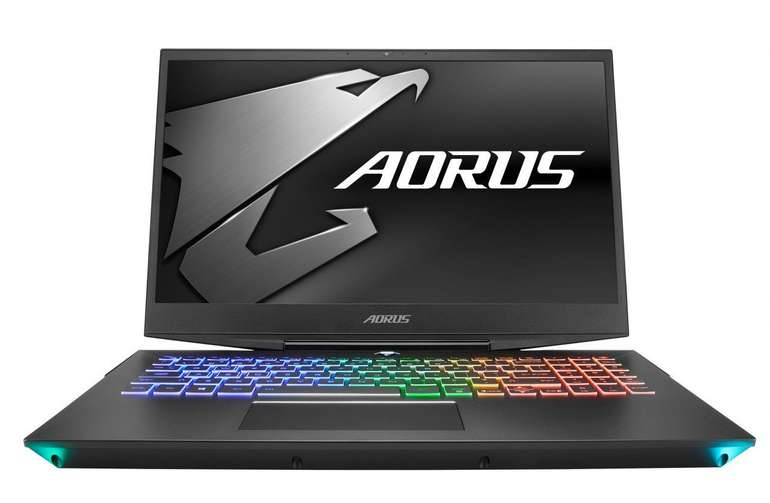 GigaByte Aorus 15-X9 Gaming Notebook mit i7-8750H, 512GB SSD & GeForce RTX 2070 für 1.599€