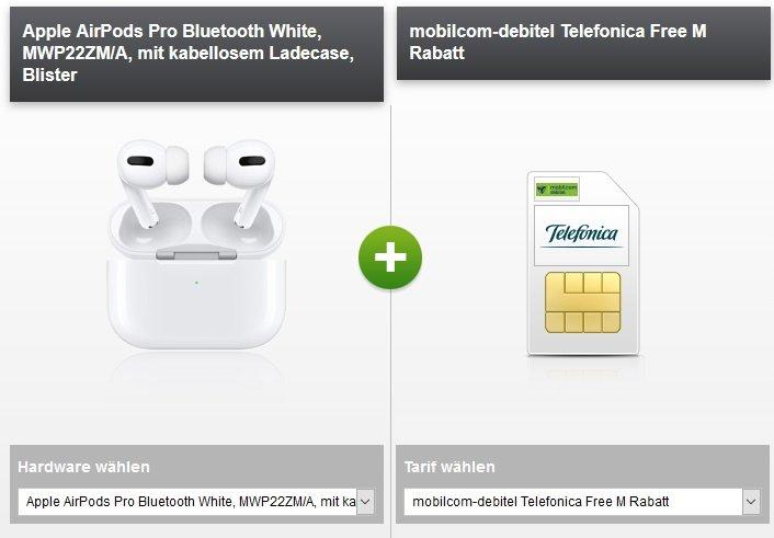 mobilcom-debitel o2 Free M Allnet-Flat Airpods