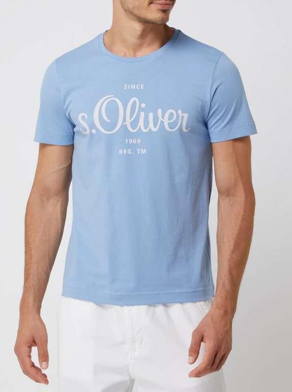 s.Oliver Red Label T-Shirt mit Logo-Print (vers. Farben) zu je 6,79€ inkl. Versand (statt 15€)