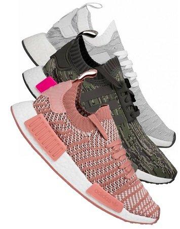 Verschiedene Primeknit Sneaker (R1 / R2) in vielen Größen jeweils nur 64,99€