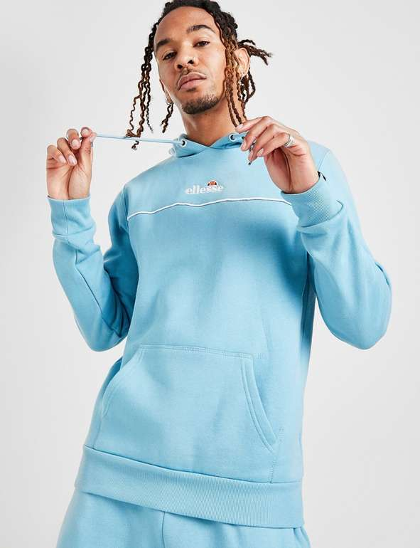 "Ellesse Herren Overhead Hoodie ""Kasper"" in Blau für 30€ inkl. Versand (statt 50€) - Jogginghose für 30€"
