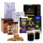 Nespresso Winterpaket mit 110 Kapseln + Kakao + 2 Gläser + Kekse für 29,99€