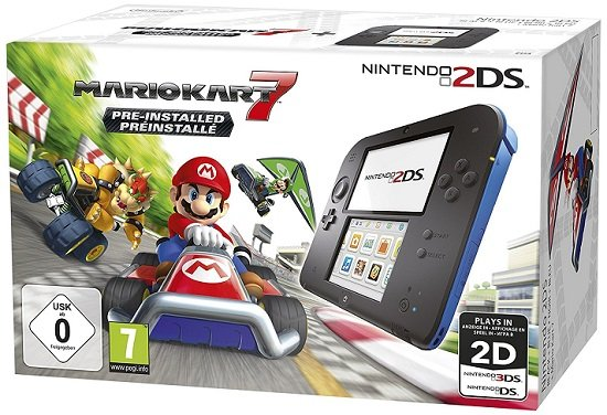 Nintendo 2DS + Mario Kart 7 für 71,23€ inkl. Versand (statt 89€)