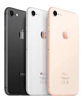 Apple iPhone 8 (1€) + Blau Allnet & SMS Flat + 3GB LTE für 32,99€ mtl.