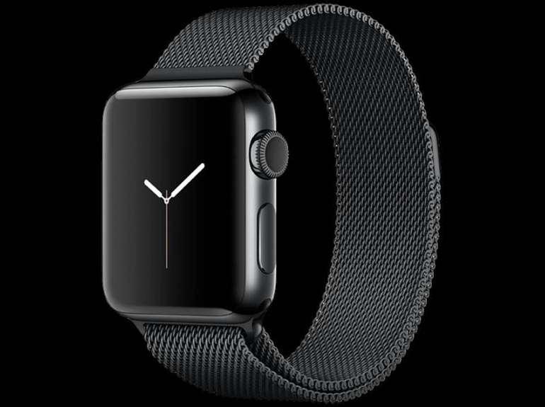 Apple Watch Series 2 (38mm) Edelstahl + Milanaise Armband für 369€ statt 424€