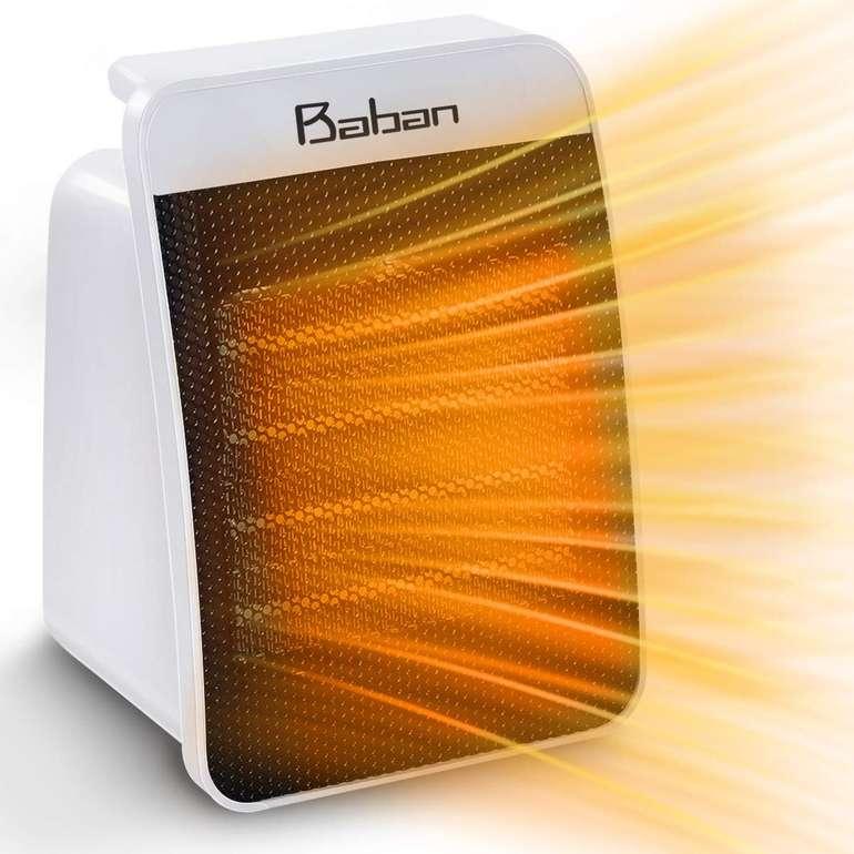 Baban Heizlüfter mit 2 Stufen und 1500 Watt für 14,72€ inkl. Versand (statt 20€)