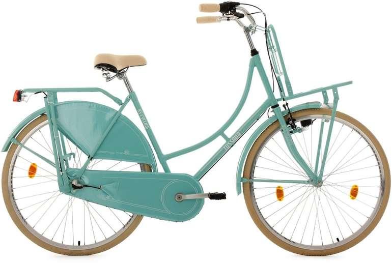 """KS Cycling 28"""" Damen Hollandrad Tussaud (3 Gänge, Lastenträger vorn) für 170,99€ inkl. VSK"""
