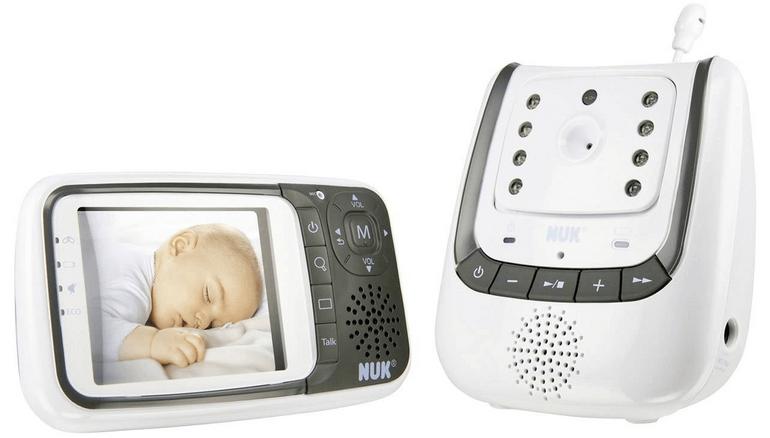 NUK Babyphone Eco Control (Nachtsicht, Temperatur) für 113,95€ (statt 152€)