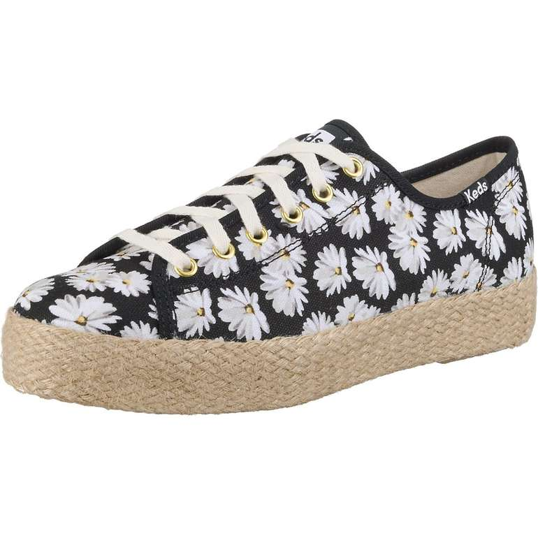 Keds Damen Sneaker 'Triple Kick Daisy' für 23,74€ inkl. VSK (statt 50€)