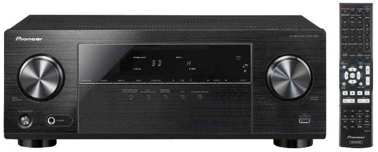 Pioneer VSX-330K - 5.1 AV-Receiver in Schwarz nur 165,75€ (statt 210€)