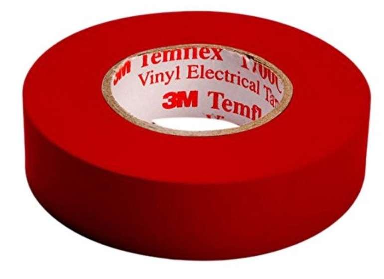 10 Meter 3M Temflex 1500 Vinyl Elektro-Isolierband für nur 0,51€ mit Prime Versand