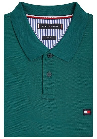 Tommy Hilfiger 1985 Contrast Placket Slim Poloshirt 3
