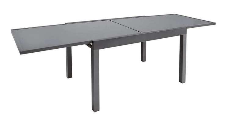 """Porta Gartentisch """"Dallas"""" aus Aluminium in anthrazit für 265,85€ inkl. Versand (statt 388€)"""