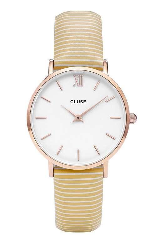 "Cluse CL30032 Quarzuhr ""Minuit"" für 29,68€ inkl. Versand (statt 42€)"