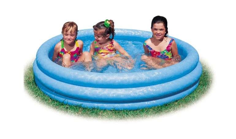 Intex Swimming Pool Schwimmbecken (147 cm) für 11,14€inkl. Versand (statt 13€) - Abholung: 5,59€