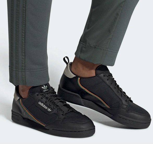 adidas Originals Continental 80 Herren Sneaker für 62,98€ inkl. VSK (statt 81€)