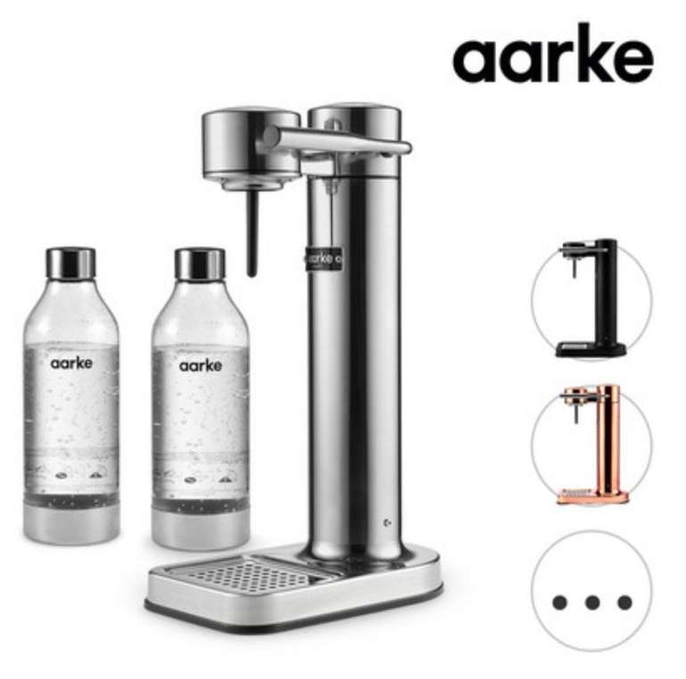 Aarke Carbonator II Design Wassersprudler aus Edelstahl für 135,90€ (statt 150€)