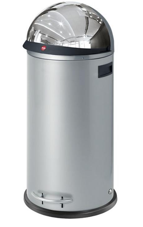 Hailo KickVisier XL Großraum-Abfallbox in Silber für 90,32€ (statt 130€)