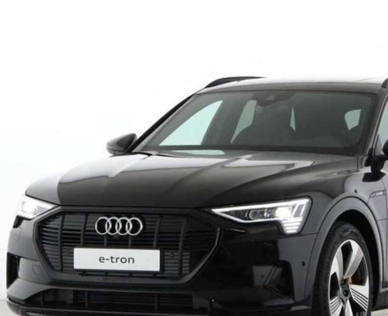 Gewerbe Leasing: Audi e-tron 50 Quattro in Schwarz mit 313 PS für 252€ netto mtl. (BAFA, LF: 0,43)