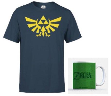 Nintendo Zelda Triforce T-Shirt + Zelda Tasse für 11,48€ (statt 27€)