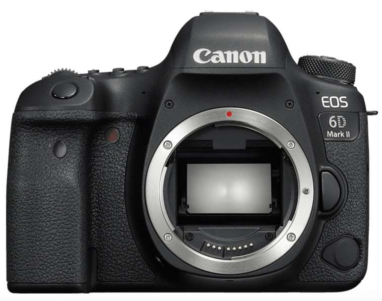 Canon EOS 6D Mark II Body Spiegelreflexkamera (26,2 MP, Full-HD, WLAN) für 973,83€ (statt 1.229€)