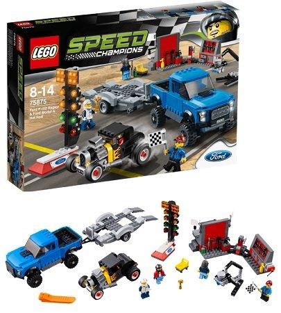 LEGO Ford F-150 Raptor & Ford Model A Hot Rod (75875) für 47,98€ (statt 73€)