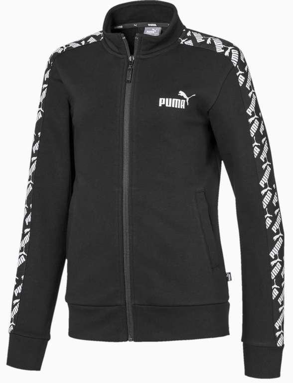 Puma Amplified Mädchen Trainingsjacke in Puma Black für 27,24€ inkl. Versand (statt 40€)