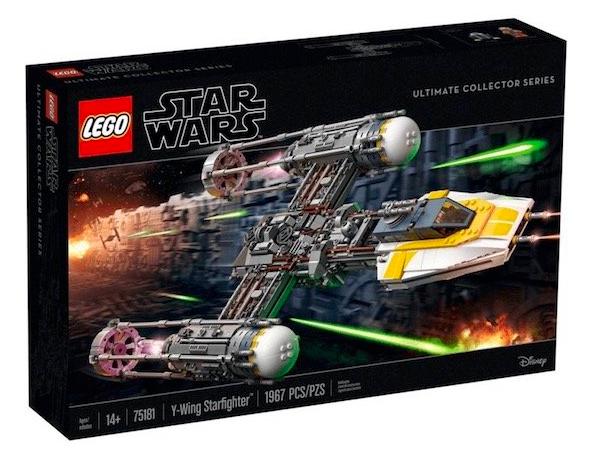 Lego Star Wars 75181 Y-Wing Starfighter für 149,99€ inkl. Versand (statt 199€)