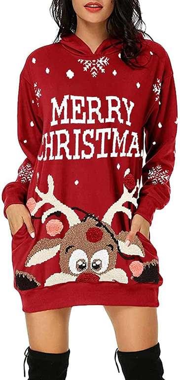 Xsz Damen Pulloverkleid (verschiedene Designs) ab 10,04€ inkl. Versand (statt 13€)