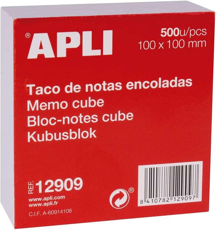 APLI 12909 Haftnotizen 500 Blatt (100 x 100 mm) für 2,05€ inkl. Prime Versand (statt 10€)