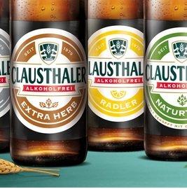 6er Kasten Clausthaler Bier oder 6 einzelne Sorten kostenlos dank Geld zurück