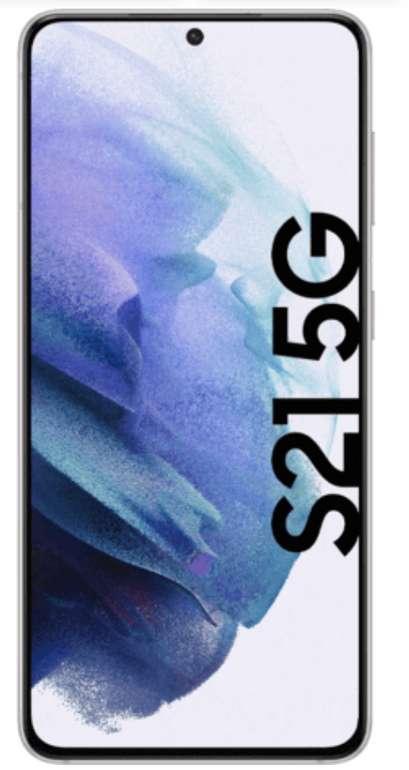 Samsung Galaxy S21 5G (79€) + MD Vodafone green LTE 20GB für 36,99€ mtl.