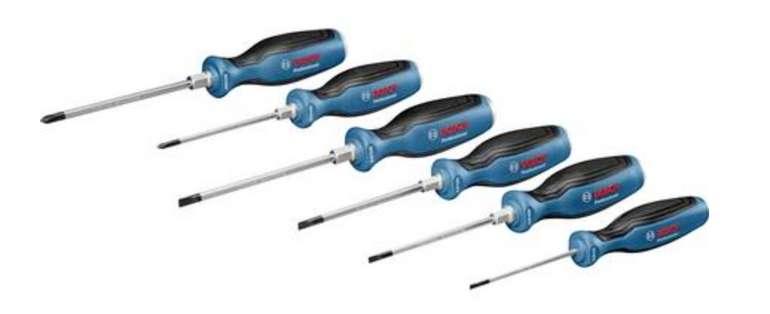 Bosch Professional Schraubendreher-Set (6-tlg.) für 27,99€inkl. Versand (statt 33€)