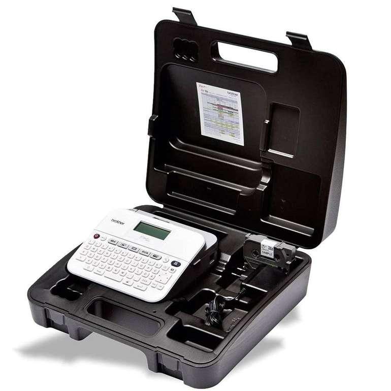 Brother P-touch D400VP Beschriftungsgerät für 25,90€ (statt 34,44€)