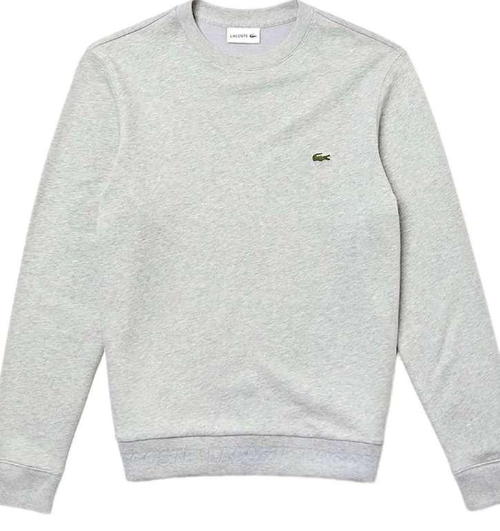 Lacoste Sweatshirt in grau (Größe L) für 31,96€inkl. Versand (statt 76€)