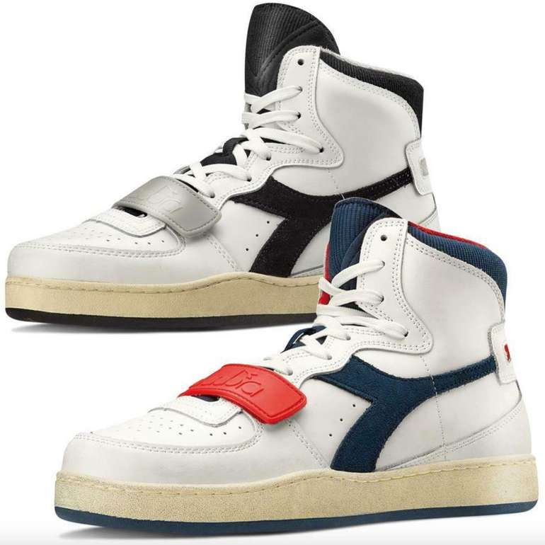 Diadora Mi Basket Used Herren Hi Top Sneaker (versch. Farben) für je 44,99€ inkl. Versand (statt 70€)