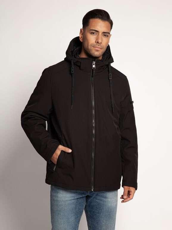 Calvin Klein Herren 2 in 1 Softshelljacke mit Ziptaschen in Schwarz für 108,30€ inkl. Versand (statt 149€)