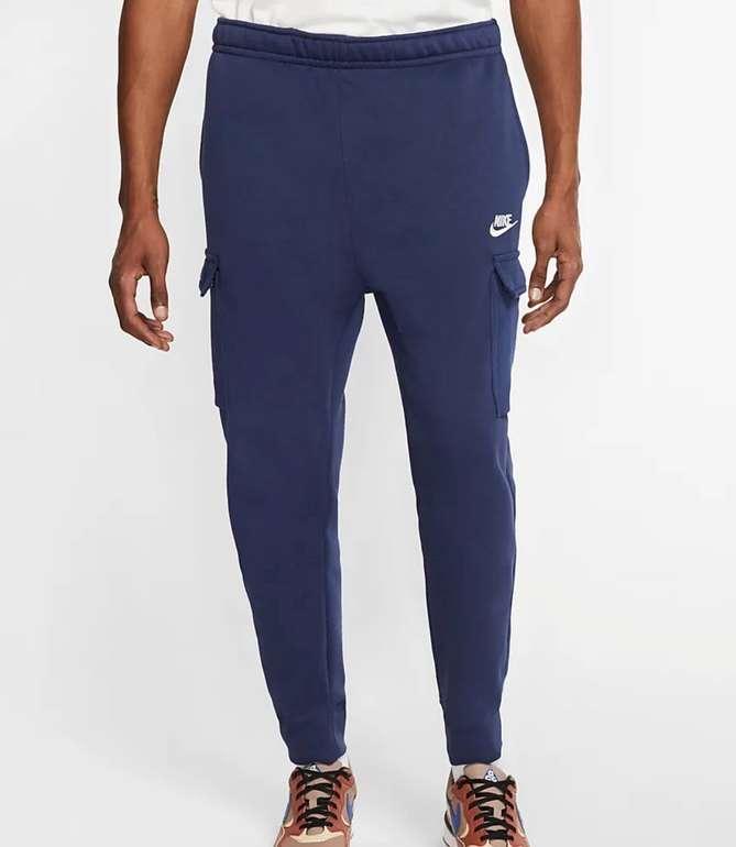 "Nike Sportswear Club Fleece Herren-Cargohose im ""Navy""-Design für 29,98€ (statt 49€) - Nike Membership!"