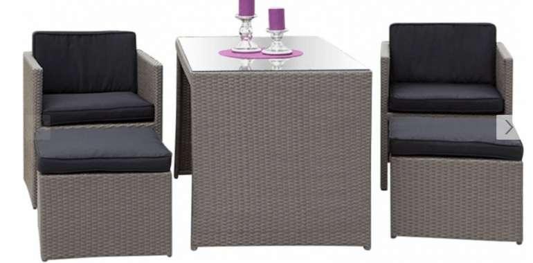 5-tlg. Balkonmöbel Lounge-Set Merano für 269,99€ inkl. Versand (statt 389€)