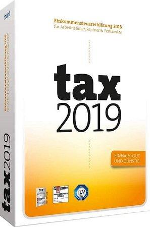 Tax 2019 Software als DVD für das Steuerjahr 2018 nur 8,99€ (statt 14€)