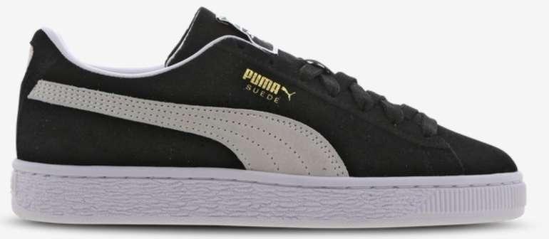 """Puma Suede Classic Leather Sneaker im """"Black""""-Colourway für 39,99€ inkl. Versand (statt 46€)"""