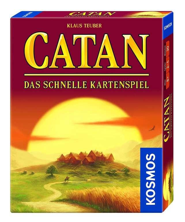 Kosmos Catan - Das schnelle Kartenspiel (740221) für Kinder ab 8 Jahren je 4,24€ inkl. Primeversand (statt 7€)