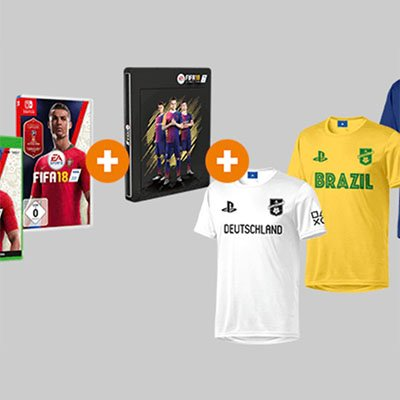 Fifa 18 + Steelbook + Trikot nach Wahl für 29€ inkl. Versand (statt 46€)