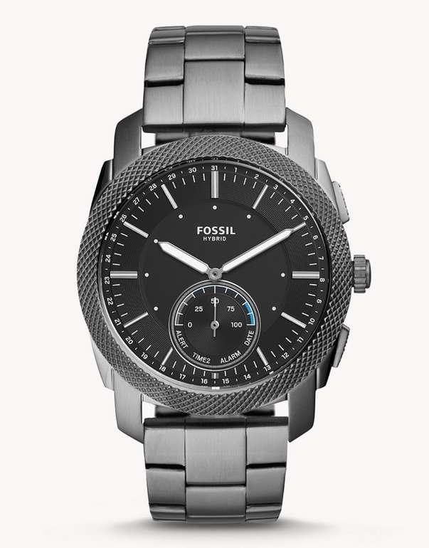 Fossil Herren Hybrid Smartwatch Machine aus Edelstahl in Grau für 139,30€ inkl. Versand (statt 170€)