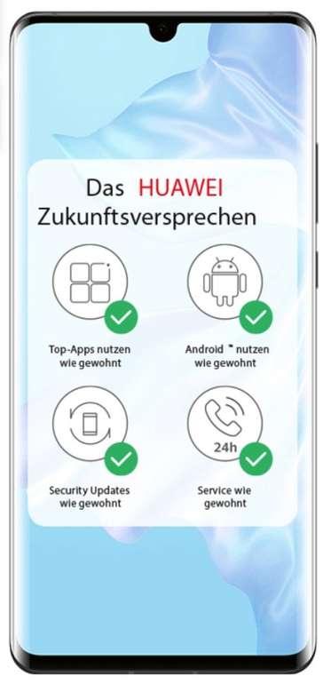 Huawei P30 Pro Dual SIM Smartphone (9€) + o2 free M Allnet Flat mit 20GB LTE für 29,99€ mtl.