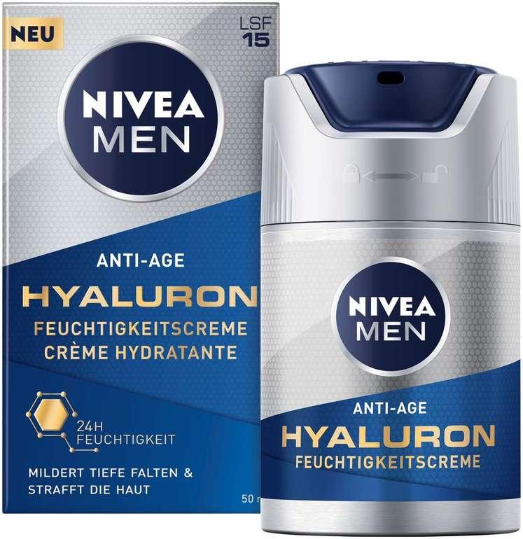 Nivea Men Anti-Age Hyaluron Feuchtigkeitspflege (50ml) für 8,59€ inkl. Prime Versand (statt 14€)