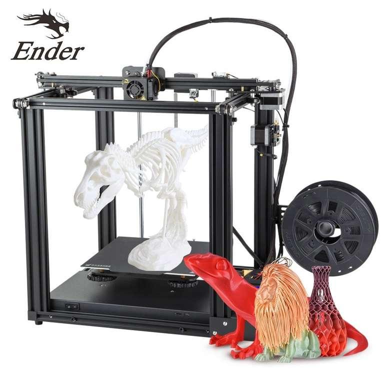 Creality 3D Ender 5 - 3D Drucker Bausatz + 8GB Speicherkarte für 228,90€ (statt 323€)