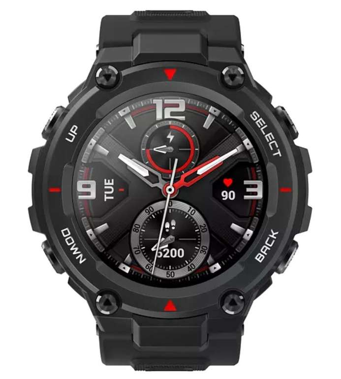 Amazfit T-Rex Smartwatch (78 mm + 123 mm) in Rock Black für 99€ inkl. Versand (statt 125€)